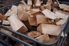 Laubmischholz bereit zum trocknen