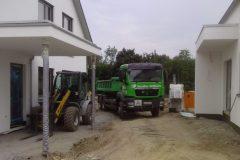 Boden liefern für unser Musterhausprojekt 2013