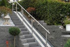 Treppenanlage mit Handlauf