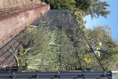 Gartenabtrennung